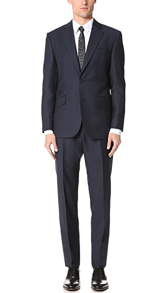 Hardy Amies Birdseye Brinsley Suit