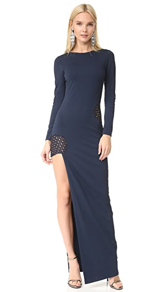 HANEY Gia Long Sleeve Dress