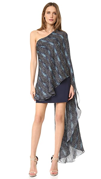 HANEY Amy Antelope Print Dress - Antelope Print