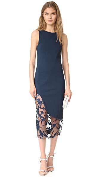 HANEY Natasha Sleeveless Dress - Navy