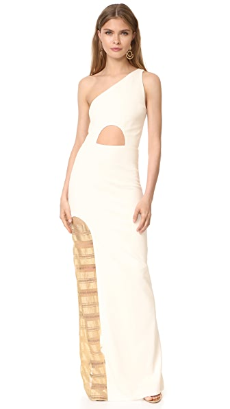 HANEY Petra One Shoulder Dress