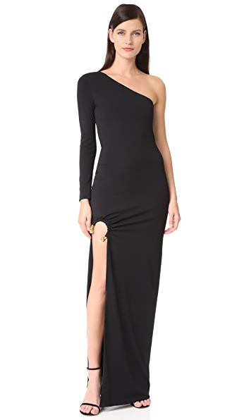 HANEY Tracee Gown In Black