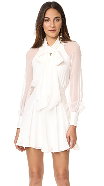 HANEY Sybil Dress - White