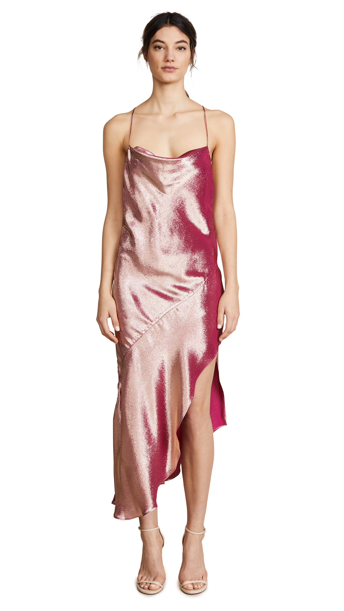 HANEY Goldie Asymmetrical Dress