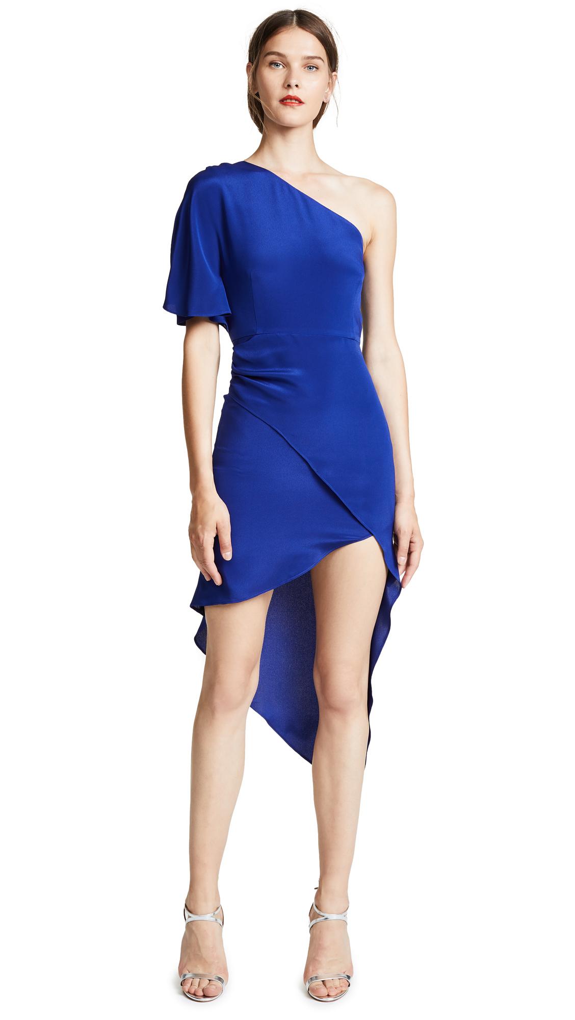 HANEY Marta One shoulder Dress