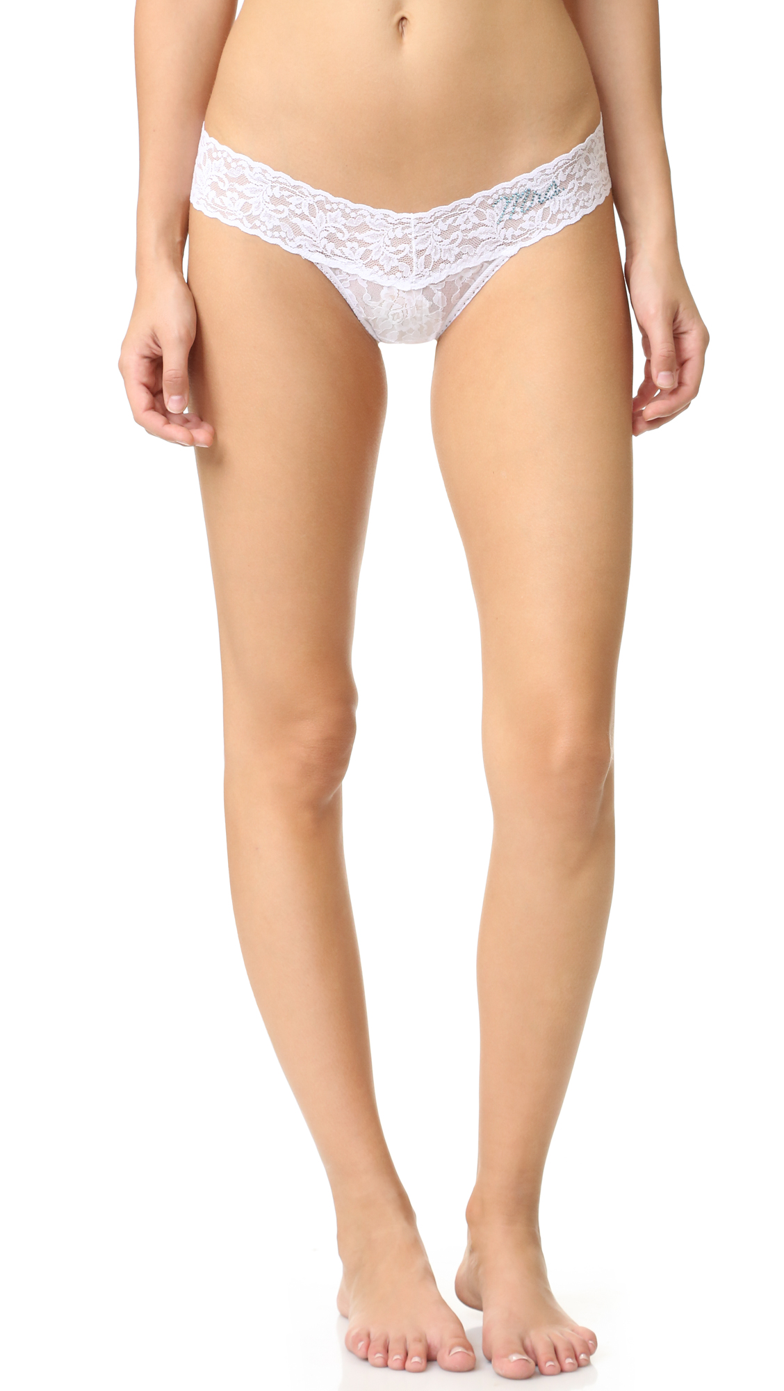 hanky panky female 265511 hanky panky mrs low rise thong whitebaby blue
