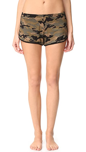 Hanky Panky Camo Rollergirl Shorts