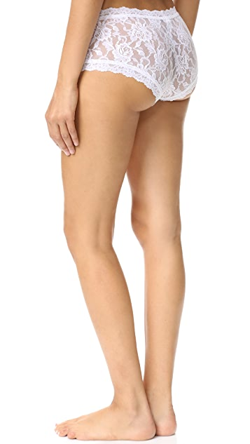 Hanky Panky 3 Pack Signature Lace Boy Shorts