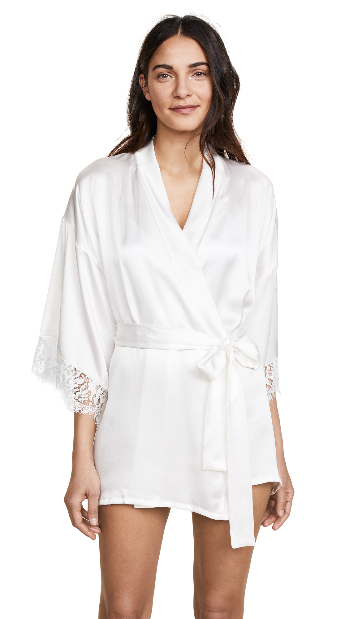 Hanky Panky Lady Catherine Robe - Light Ivory