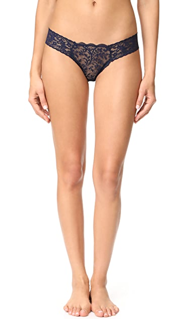 Hanky Panky Queen Anne's Lace Diamond Low Rise Thong