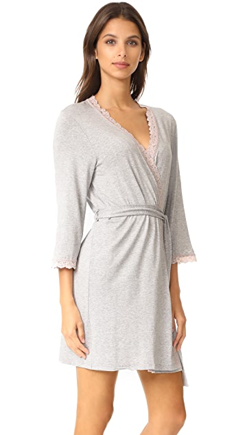 Hanky Panky Heather Sleepwear Kimono Robe
