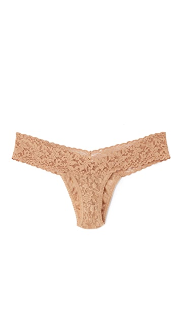 Hanky Panky 3 Pack Signature Lace Neutral Thongs