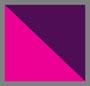 фиолетовый бархат/розовый тюльпан