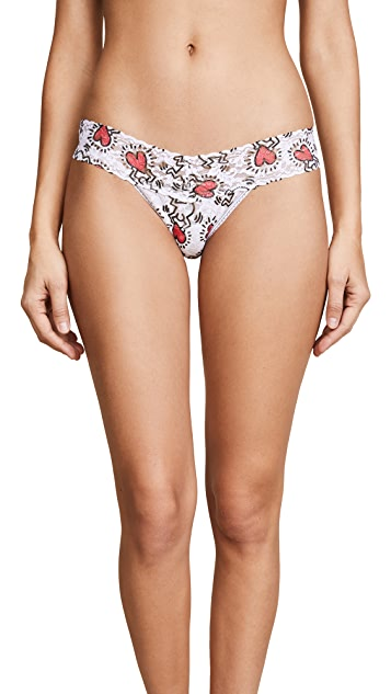 Hanky Panky Keith Haring Low Rise Thong