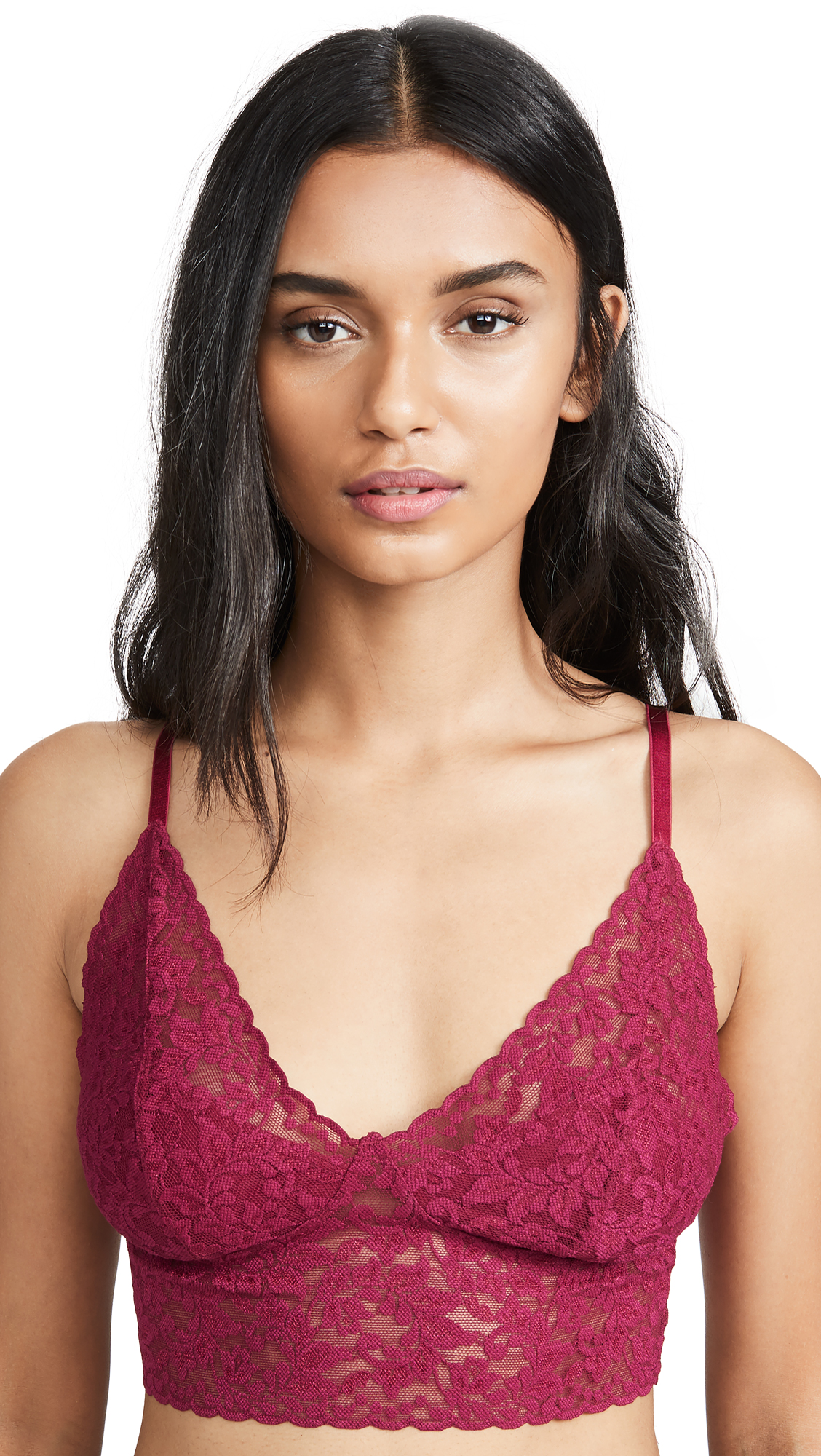 Buy Hanky Panky online - photo of Hanky Panky Retro Lace Longline Bra