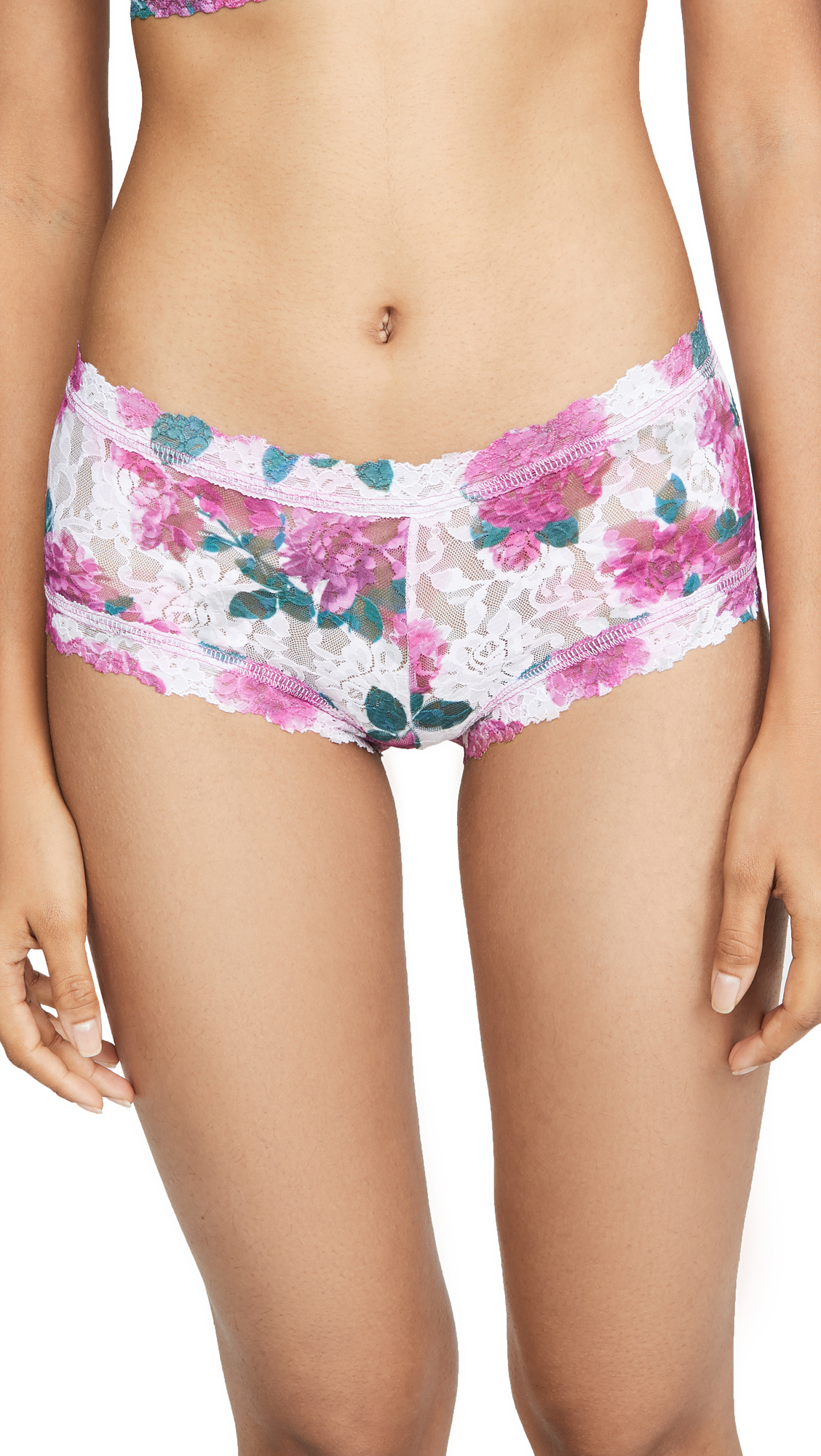 Buy Hanky Panky online - photo of Hanky Panky Kensington Rose Boyshorts