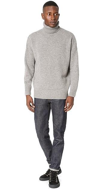 Harmony Windy Turtleneck Knit Sweater