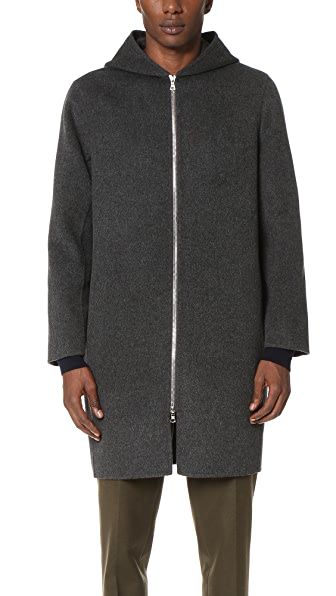 Harmony Miles Hooded Zip Coat