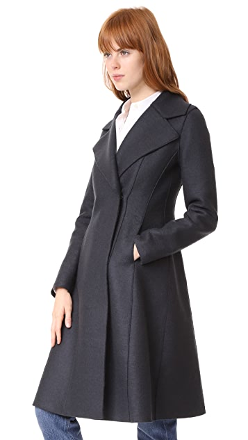 Harris Wharf London Flairy Coat