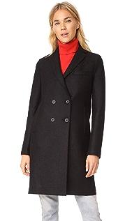 Harris Wharf London Boxy DB Coat