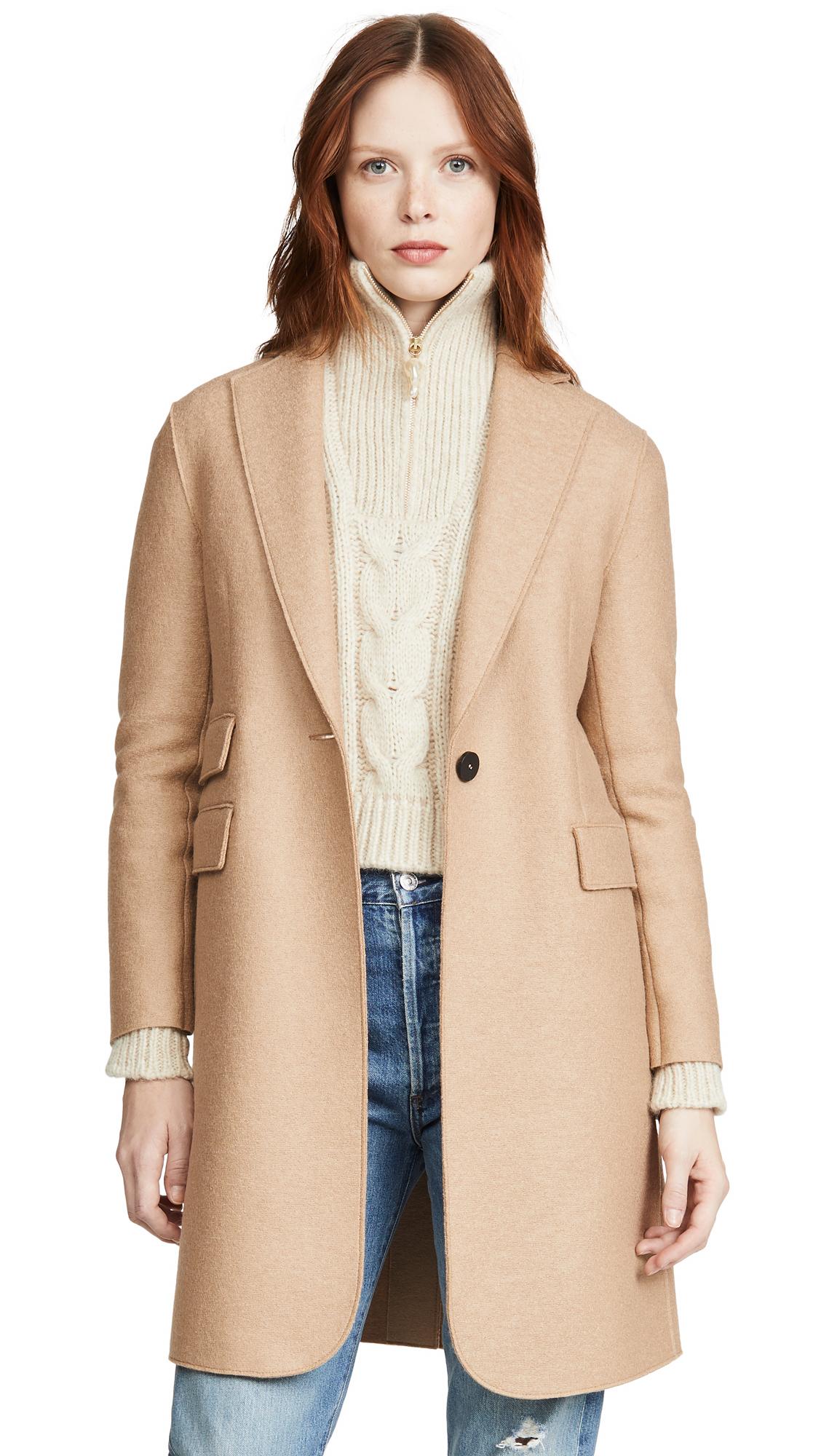 Buy Harris Wharf London Single Breasted Coat online beautiful Harris Wharf London Clothing, Jackets