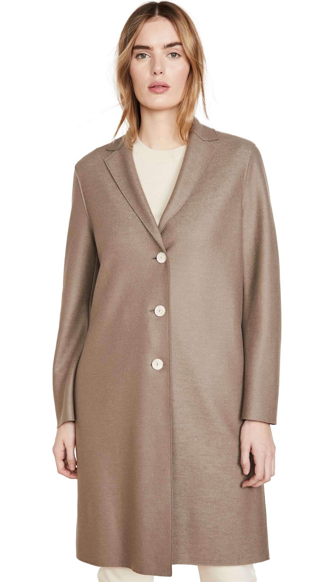 Buy Harris Wharf London Overcoat Light Pressed Wool Jacket online beautiful Harris Wharf London Clothing, Jackets