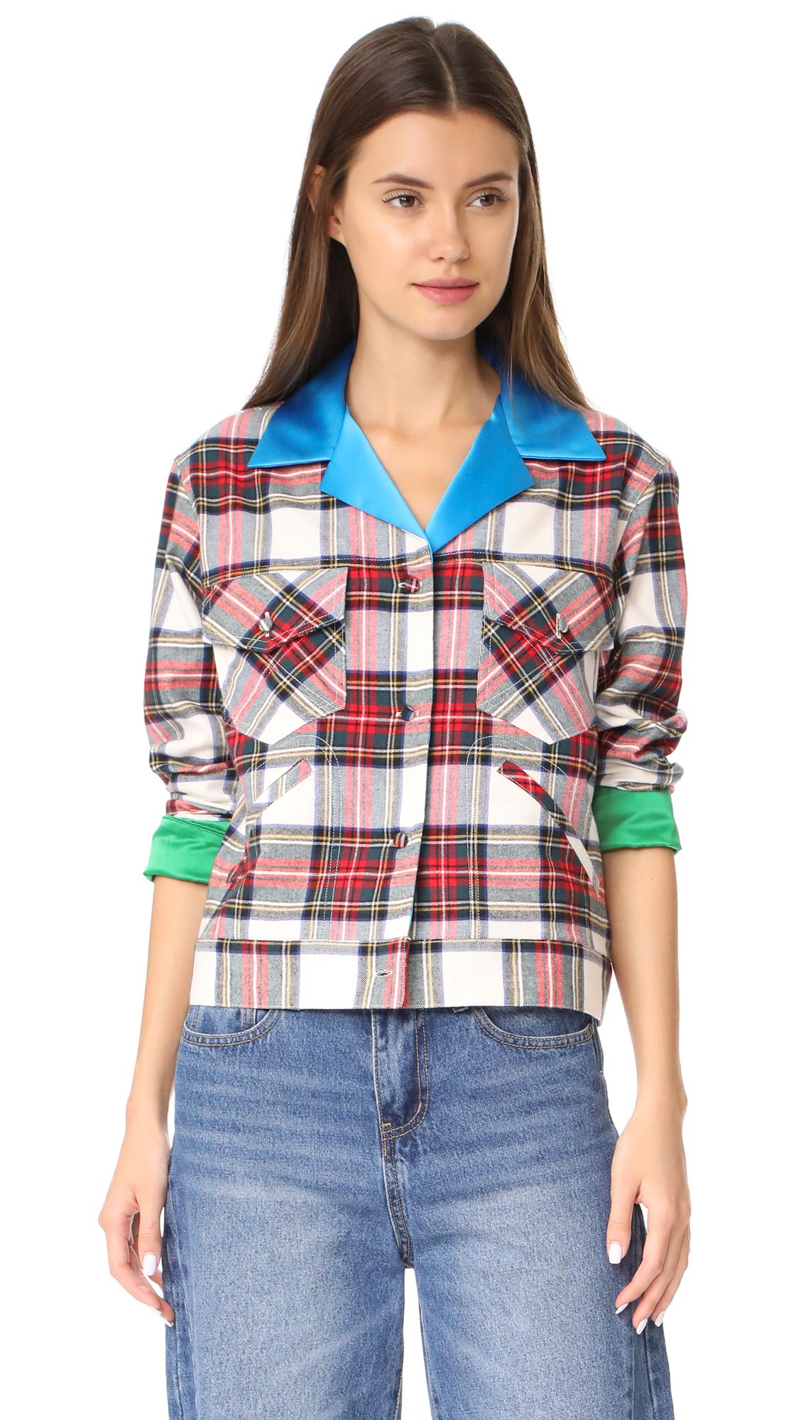 Harvey Faircloth Plaid Shirt - Multi