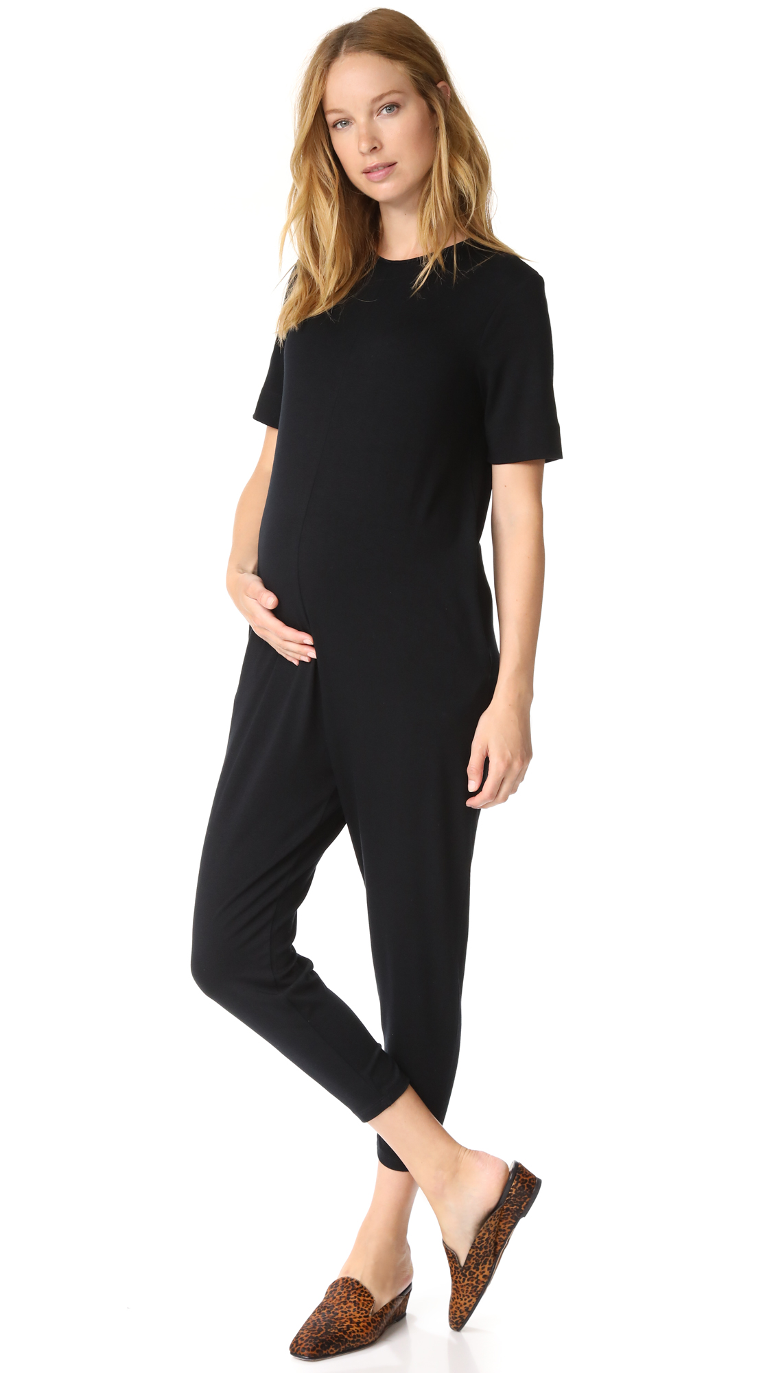 HATCH The Walkabout Jumpsuit In Black