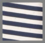 Navy/Ivory Speckled Stripe