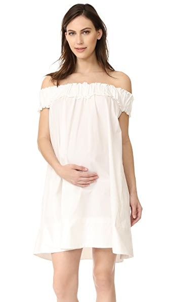 HATCH The Audrey Dress - White