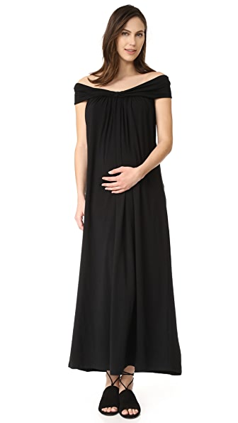 HATCH The Luella Maxi Dress - Black