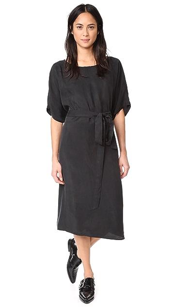 HATCH Sofia Drape Dress