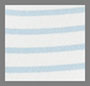 Blue Ivory Stripe
