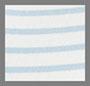 蓝象牙白条纹