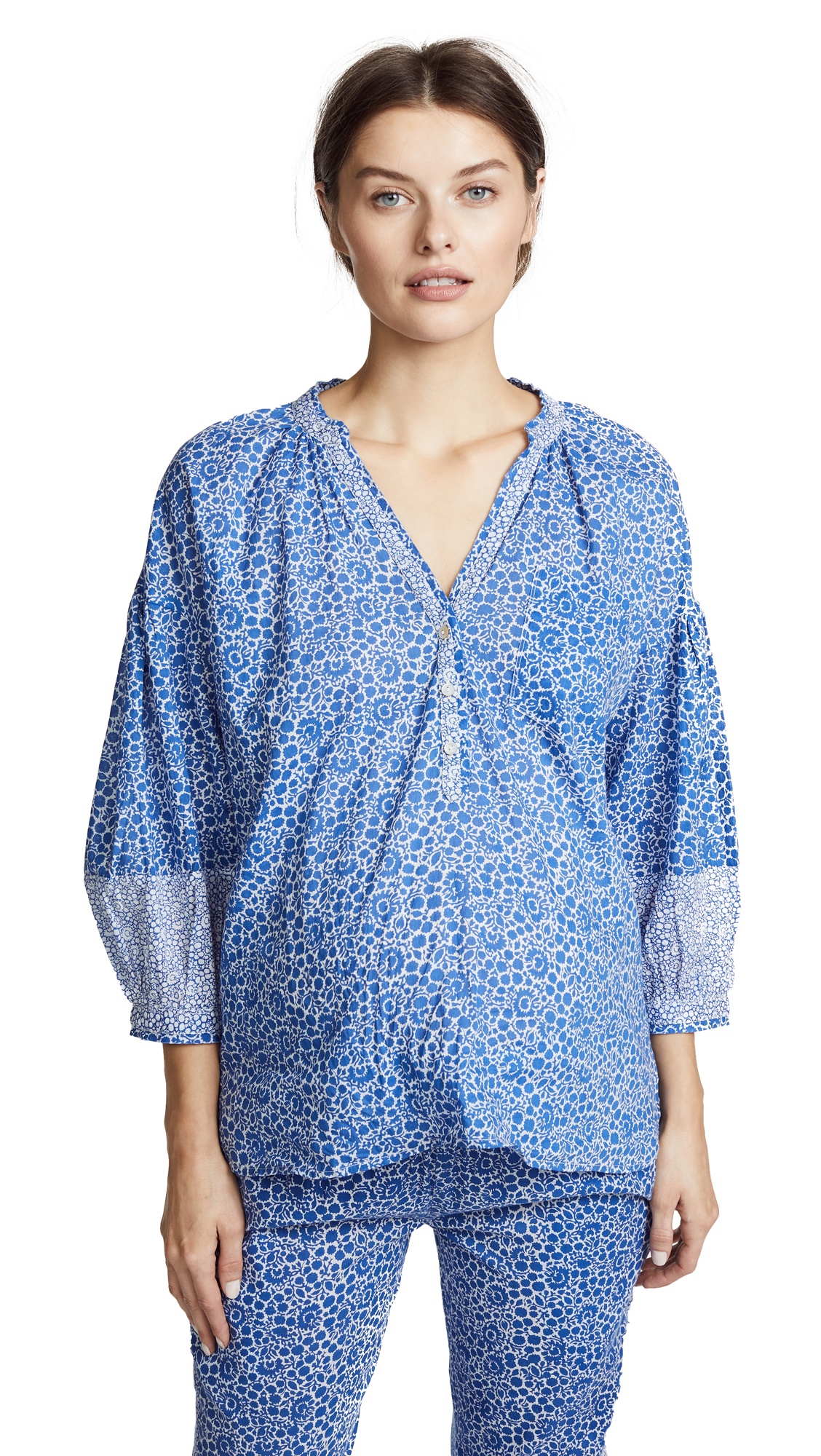 HATCH THE OLIVIA BLOUSE