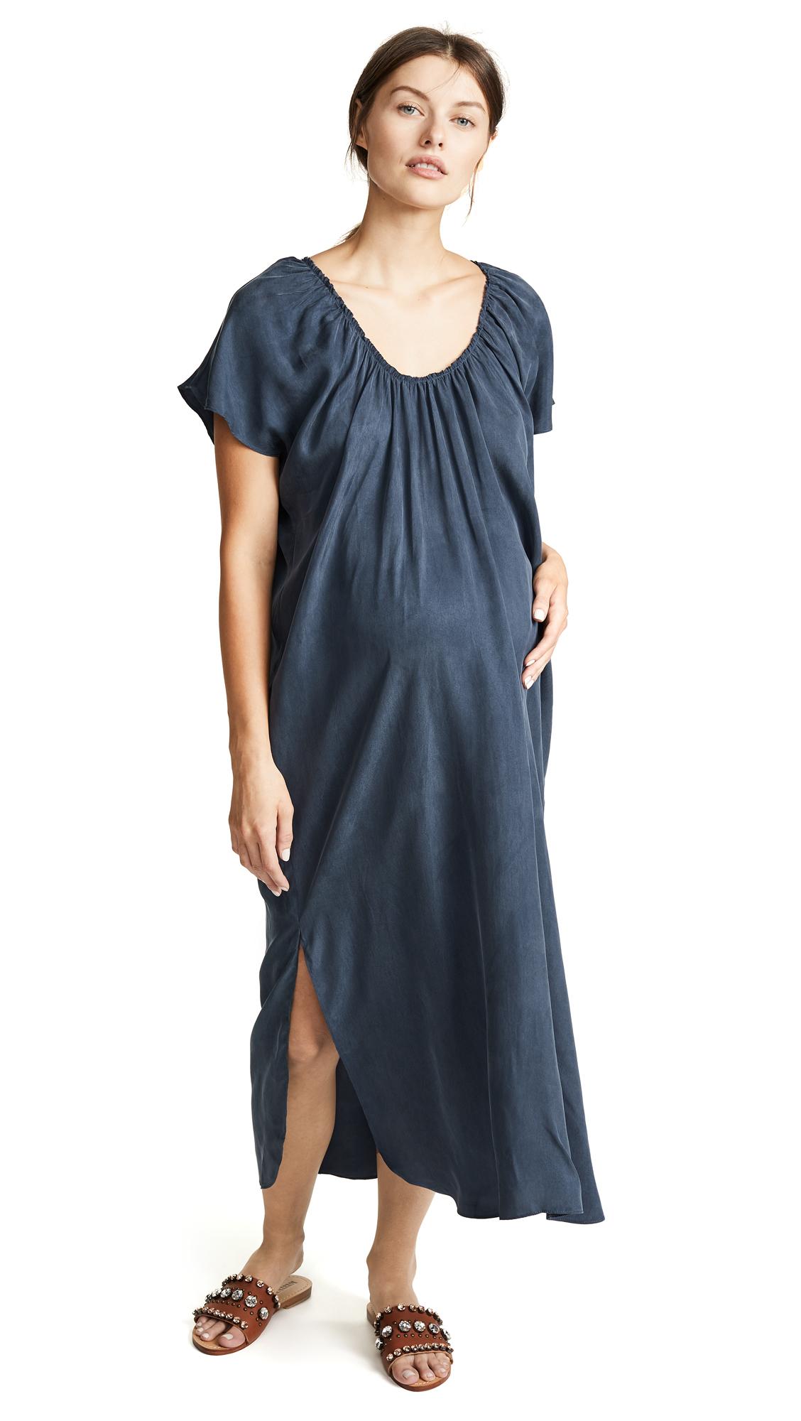 HATCH The Ariella Dress In Ink