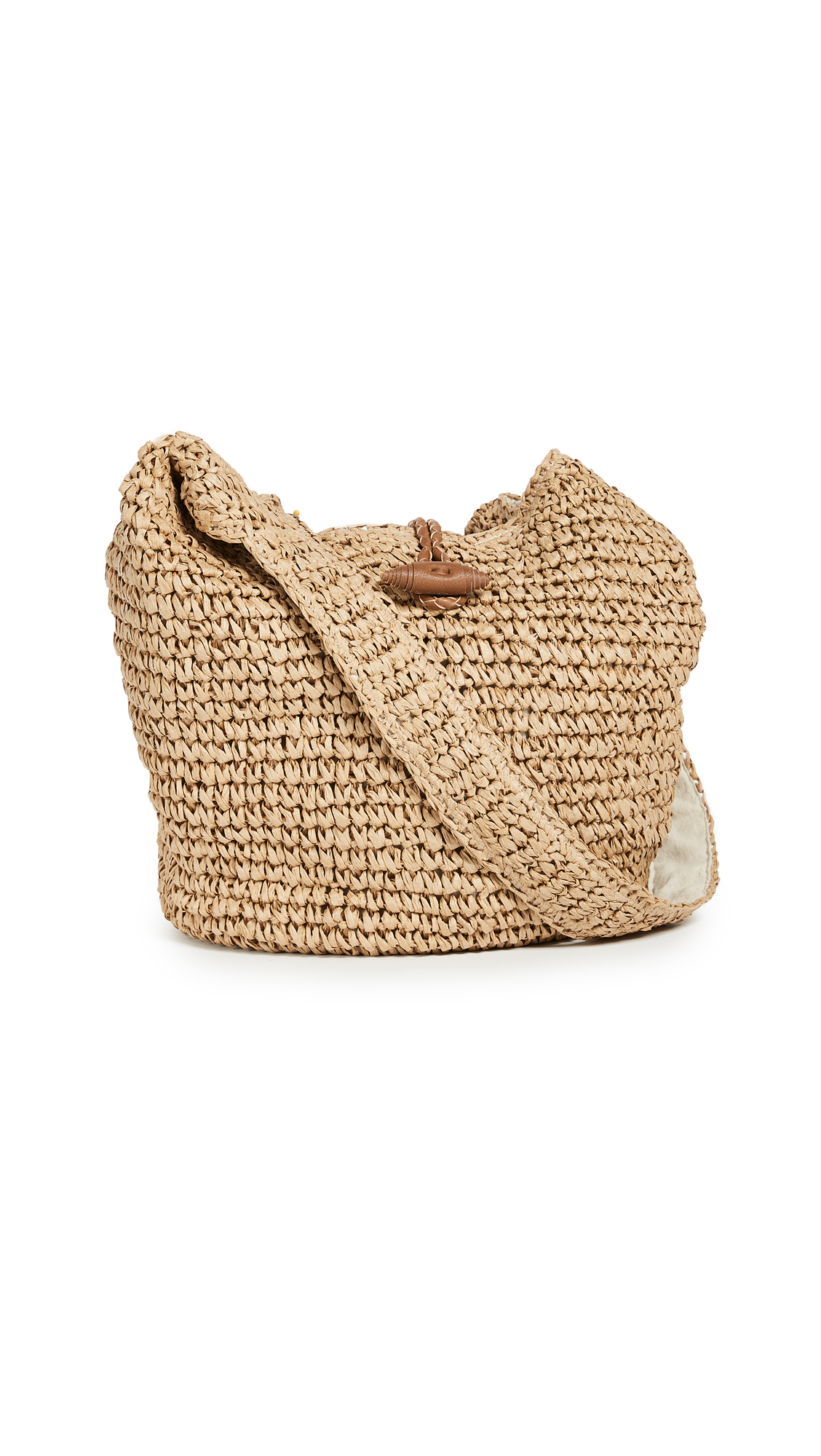 Hat Attack Toggle Sling Bag - Natural