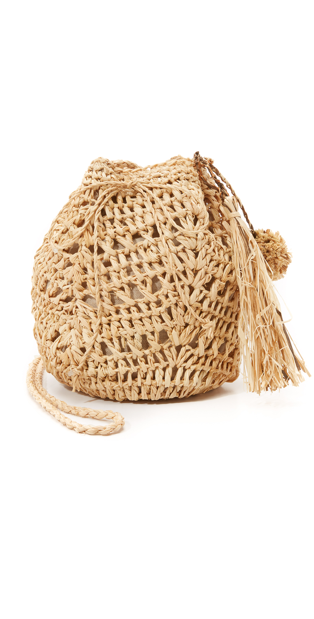 Raffia Pouchette Bag Hat Attack