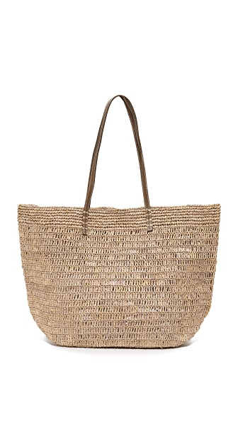 Hat Attack Ibiza Tote In Taupe