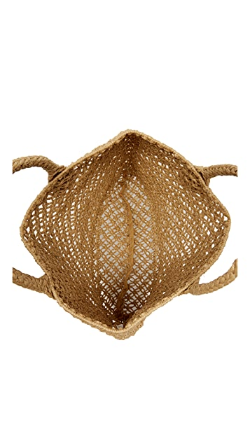 Hat Attack Macrame Small Tote