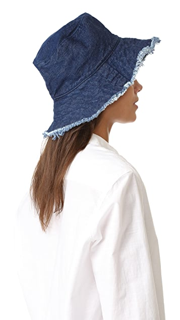 Hat Attack Frayed Edge Crusher Hat