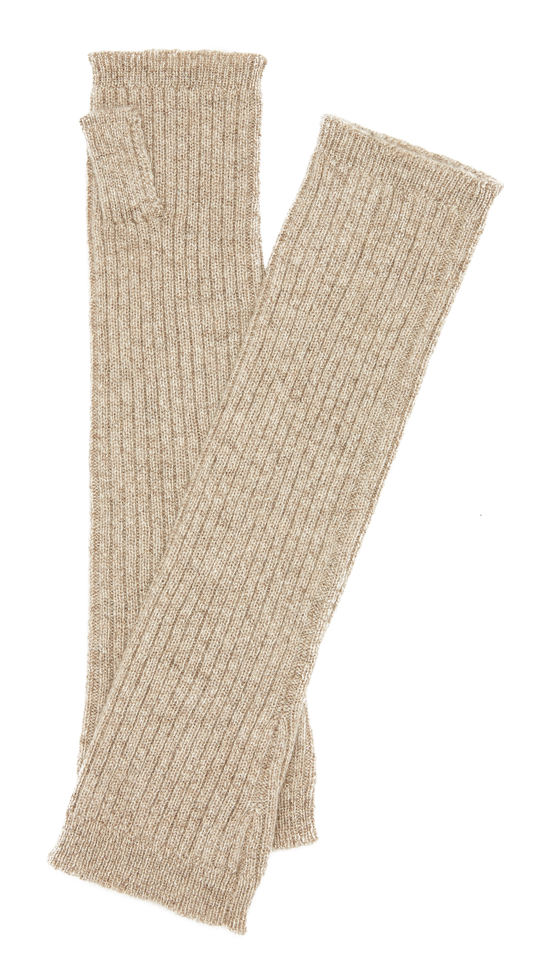 Hat Attack Cashmere Arm Warmers - Taupe