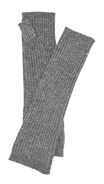 Hat Attack Cashmere Arm Warmers - Charcoal