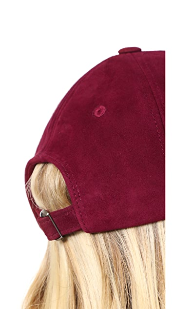 Hat Attack Suede Baseball Hat