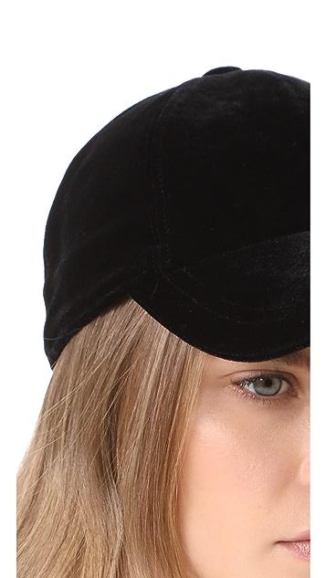 Hat Attack Velvet Baseball Hat
