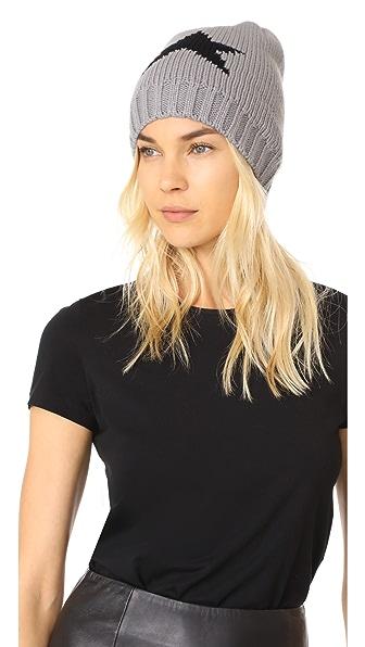 Hat Attack Star Beanie - Grey/Black