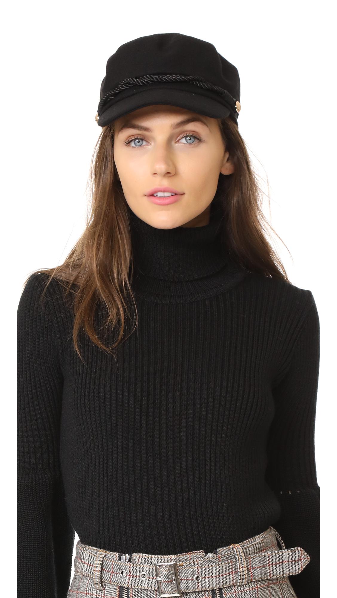 Hat Attack Emmy Wool Cap - Black