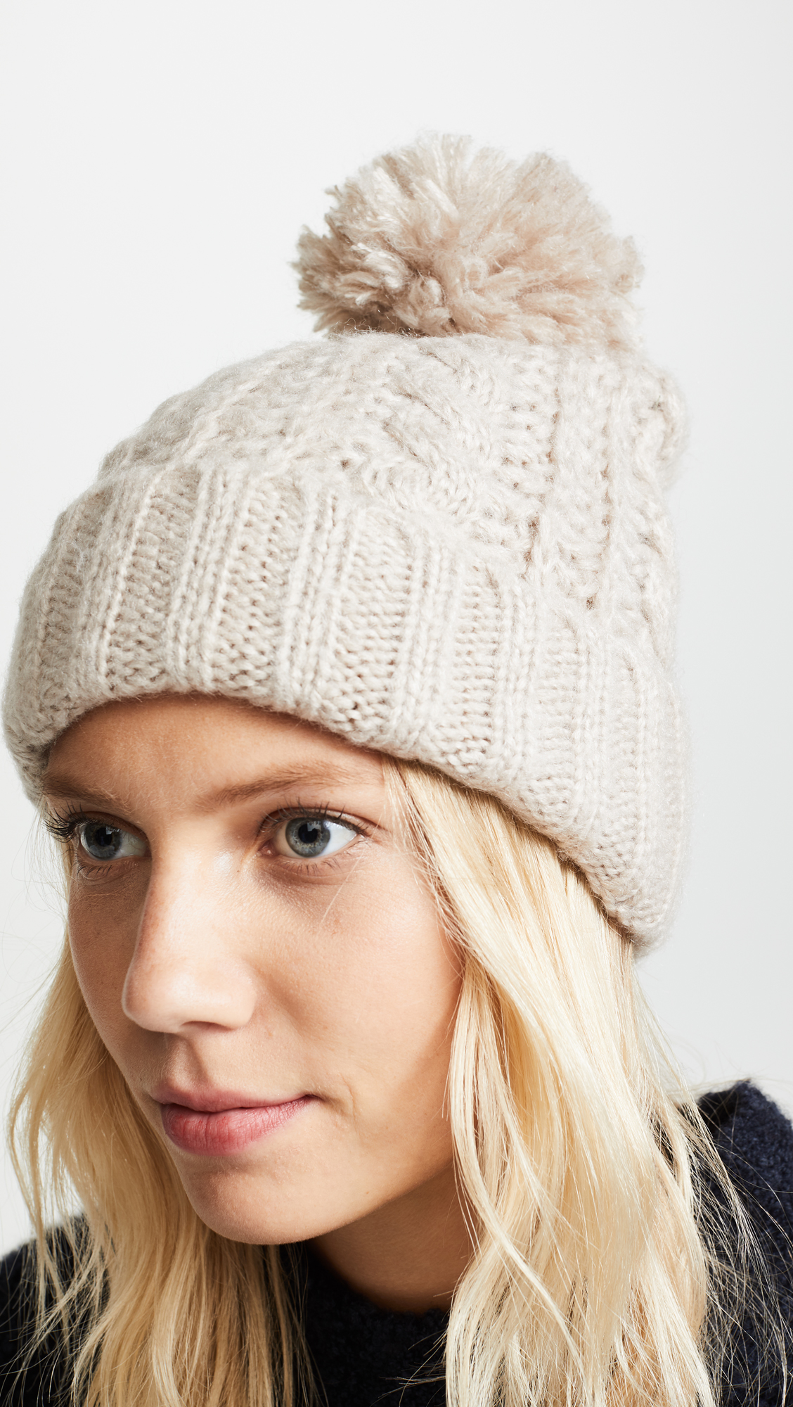 83ac544f294 Hat Attack Soft Cable Beanie