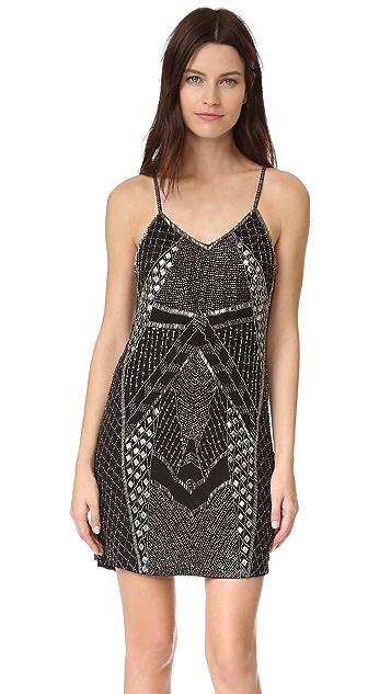 Haute Hippie Vesper Slip Dress