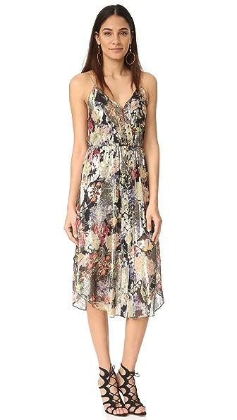 Фото Haute Hippie Платье со шнуровкой спереди. Купить с доставкой